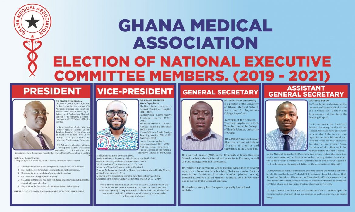 ELECTION OF NATIONAL EXECUTIVE COMMITTEE MEMBERS (2019 – 2021)